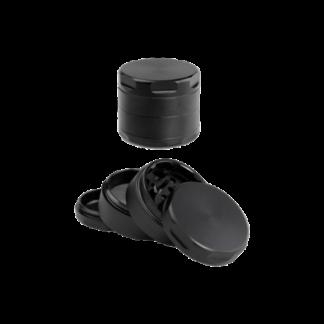 Aluminium Grinder schwarz 4-tlg.