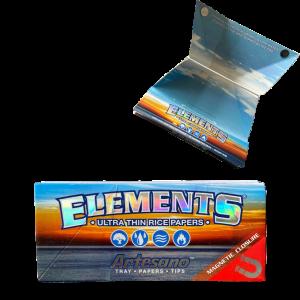 Elements Artesano, KS Slim Longpapers&Tips