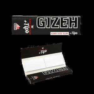 'Gizeh Black' / Gizeh KS Slim Extra Fine + Tips