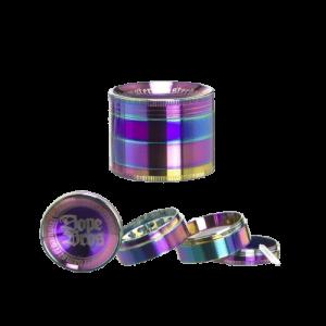 Dope Bros Rainbow Grinder – 4-teiliger Ø55mm