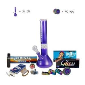DieWeedBox Premium – Blue/Violett