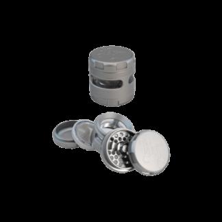 BL WINDOZ Aluminium Grinder 4-tlg. - Grau (Black Leaf)