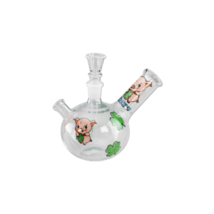 Glaspfeife Glücksschweinchen