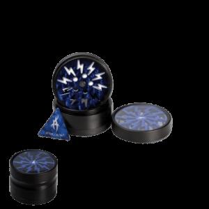 Thorinder After Grow Alu-Grinder 4-tlg. schwarz/blau