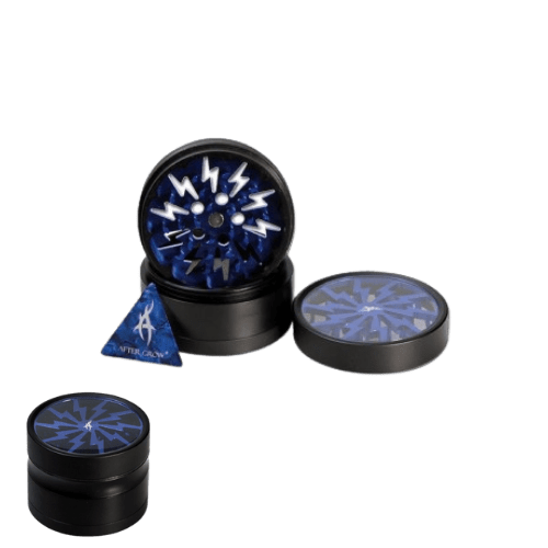 Thorinder Mini After Grow Alu-Grinder 4-tlg. schwarz/blau 50mm