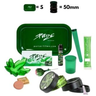 DieWeedBox Medium - Green mit Grinder