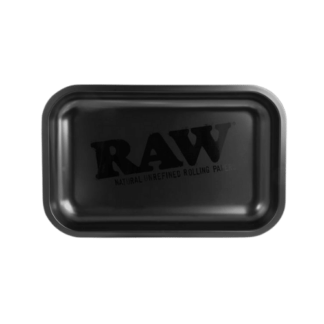 RAW Rolling Tray Black /S