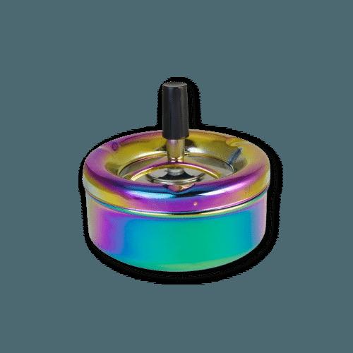 Drehaschenbecher Rainbow