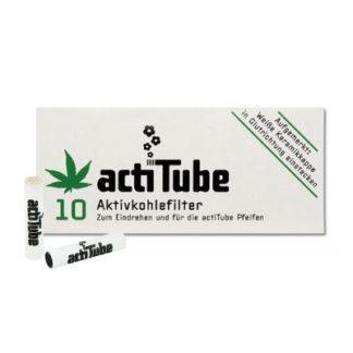 actiTube Aktivkohlefilter (10 Stück)