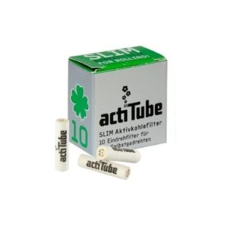actiTube Aktivkohlefilter Slim 7mm