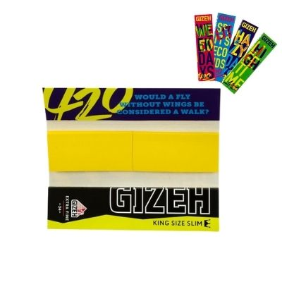 Gizeh 420 Limited Edition King Size Slim Papers + Tips