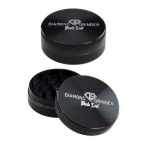 Black Leaf Diamond Aluminiumgrinder 2-tlg