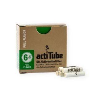 actiTube Aktivkohlefilter FULL FLAVOR 6mm 50er Packung