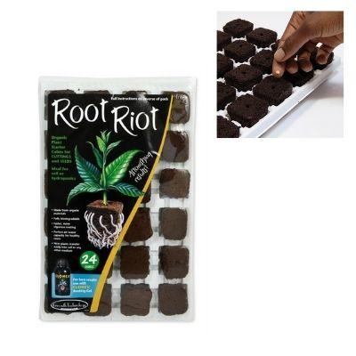 root riot Anzuchtset pflanzwürfel